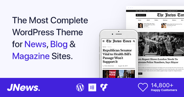 JMagz - Tech News Review Magazine WordPress Theme - 1